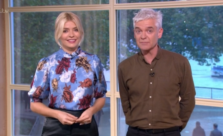Here's what Phillip Schofield was doing instead of being on This Morning