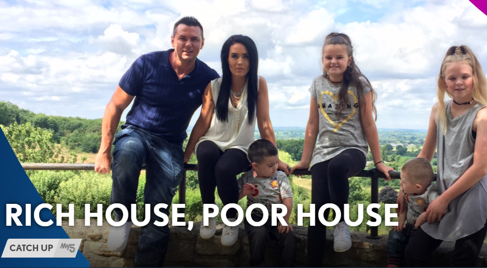 Millionaire breaks Channel 5 rules to make a generous gift to reality show family