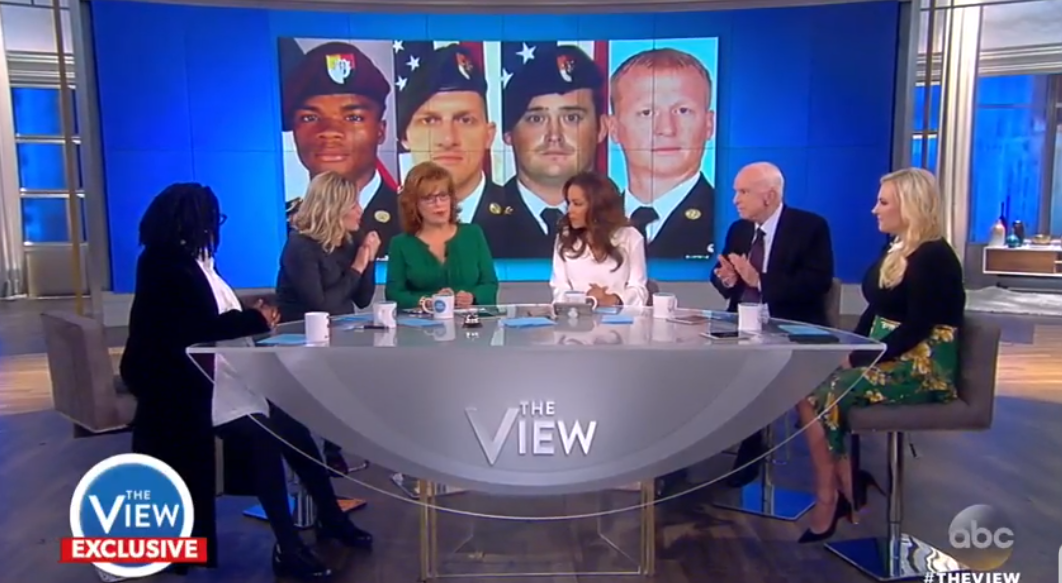 'The View' Hosts Tear Into Trump For War Of Words With Fallen Soldier's Widow