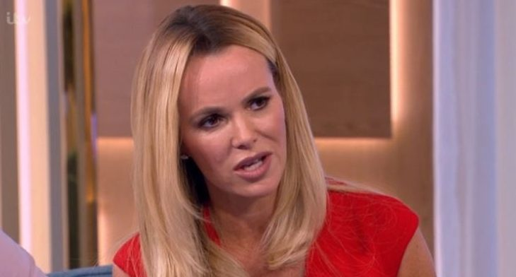 Watch Amanda Holden's gaffe asking Tim Peake about visiting the moon