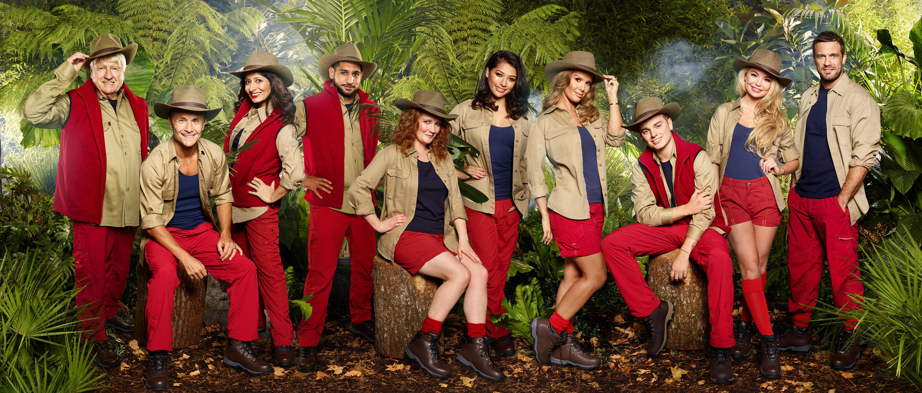 Im A Celeb Stars Tears Over Being Branded Bully Revealed In Tonights Coming Out Show Not So Happy Campers