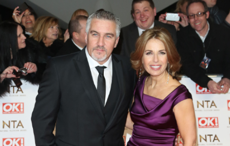What happened between Paul Hollywood and Candice Brown?