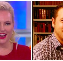 Meghan McCain and Ben Domenech. (Credit: ABC/www.bendomenech.com)