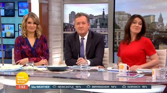Twitter in meltdown as Piers Morgan calls guest on Good Morning Britain a D***
