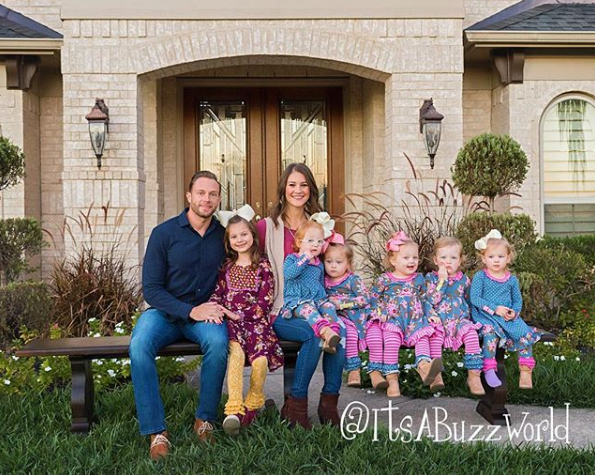 39 outdaughtered 39 star adam busby delights fans with for Where is danielle s dad on outdaughtered