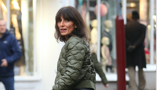Davina McCall's husband pictured for the first time after couple announce split