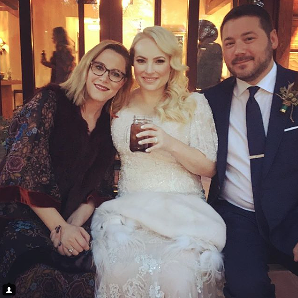 Portroids Presents Meghan Mccain: Meghan McCain Dishes On Her Wedding