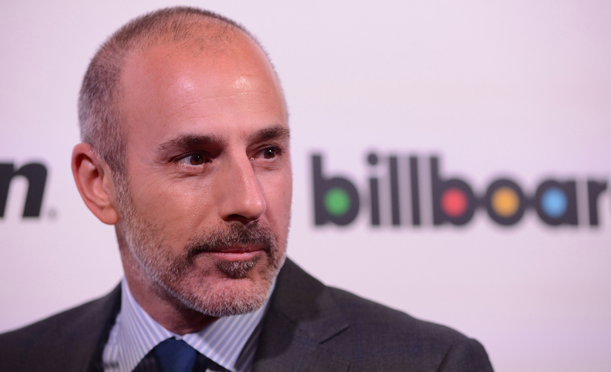 Nbc To Matt Lauer Youre Not Getting A Dime Entertainment Daily
