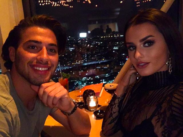 Love Island's Kem Cetinay and Amber Davies confirm split