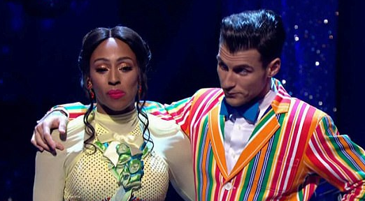 Strictly's Alexandra Burke responds to rumours she had 'meltdown backstage'