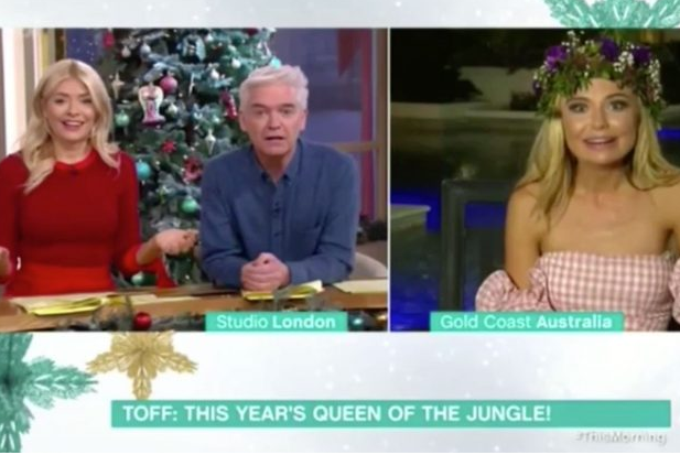 Toe-curling moment on This Morning as Toff corrects Holly Willoughby's blunder