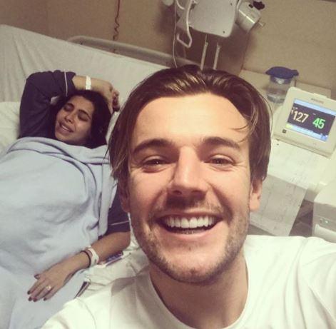 Cara De La Hoyde and Nathan Massey welcome baby boy