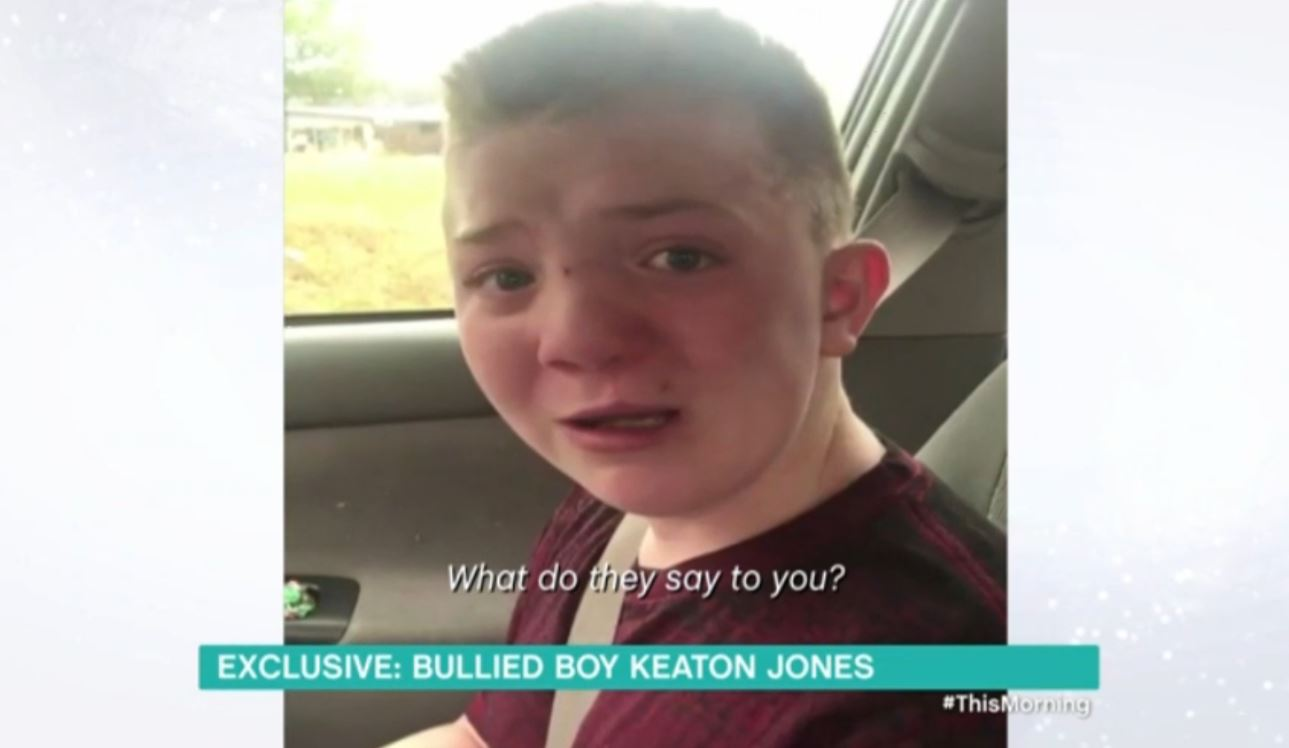 Dad of Keaton Jones is jailed white supremacist with 'pure breed' tattoo