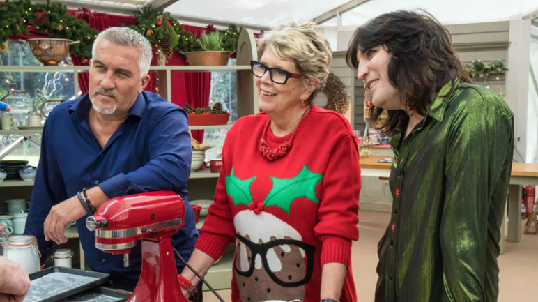 Poor Prue Leith commited another premature blunder on festive Bake Off