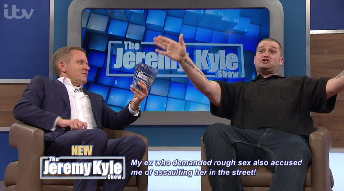 Jeremy Kyle fans dumbfounded over guest's bizarre condom substitute