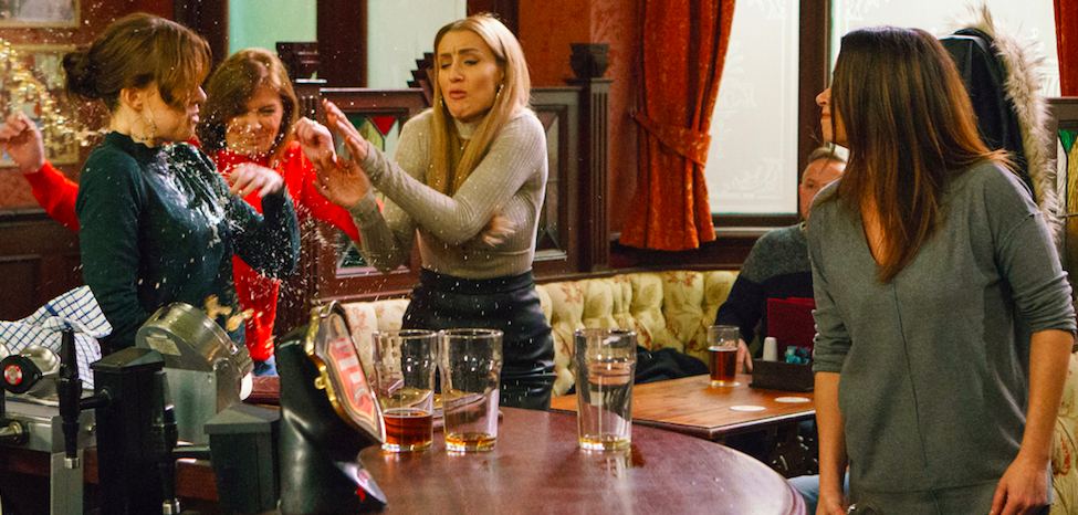 It's war on Coronation Street as Toyah Battersby takes on ... Man Thinking Png