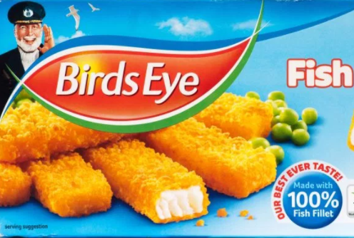 New Captain Birds Eye is as dishy as a fishy