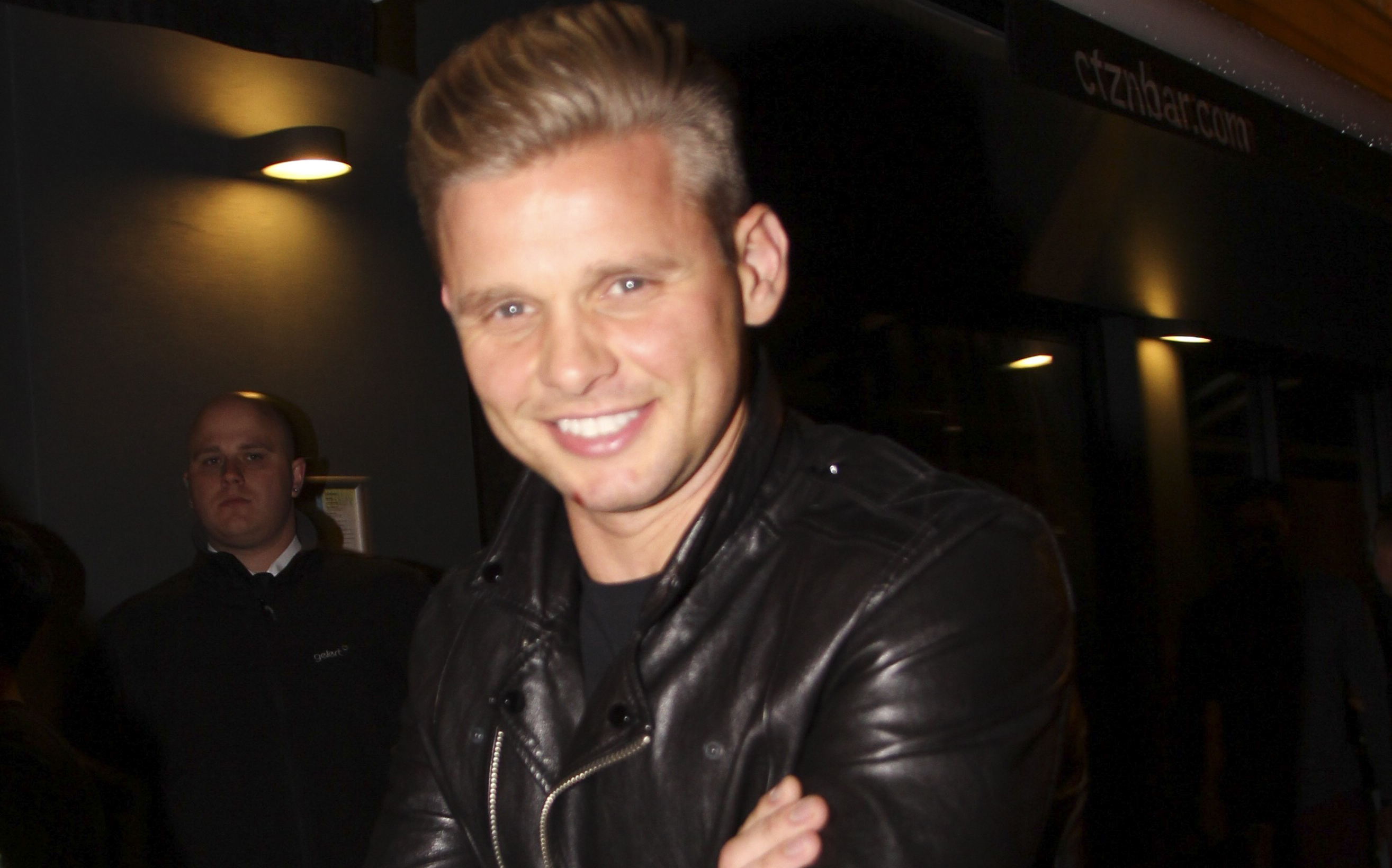 Jeff Brazier vows to shape up after 'chubby' joke