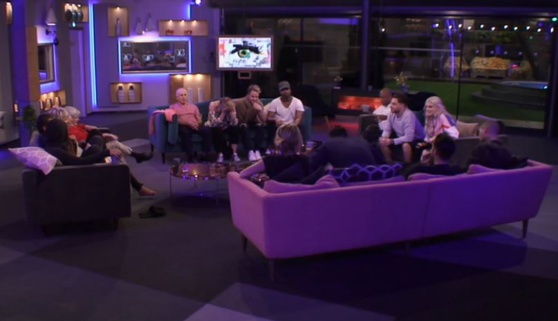 Five face the chop on Celebrity Big Brother