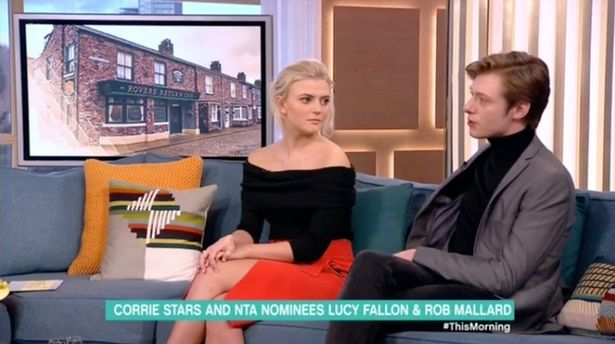 Coronation Street's Rob Mallard explains why his hands were shaking during This Morning interview