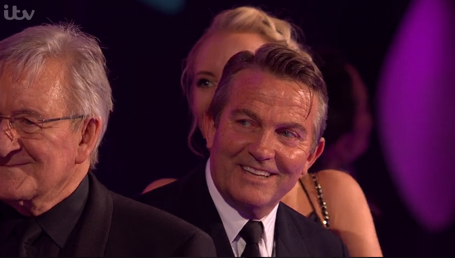 Bradley gatecrashed This Morning's big moment at the NTAs