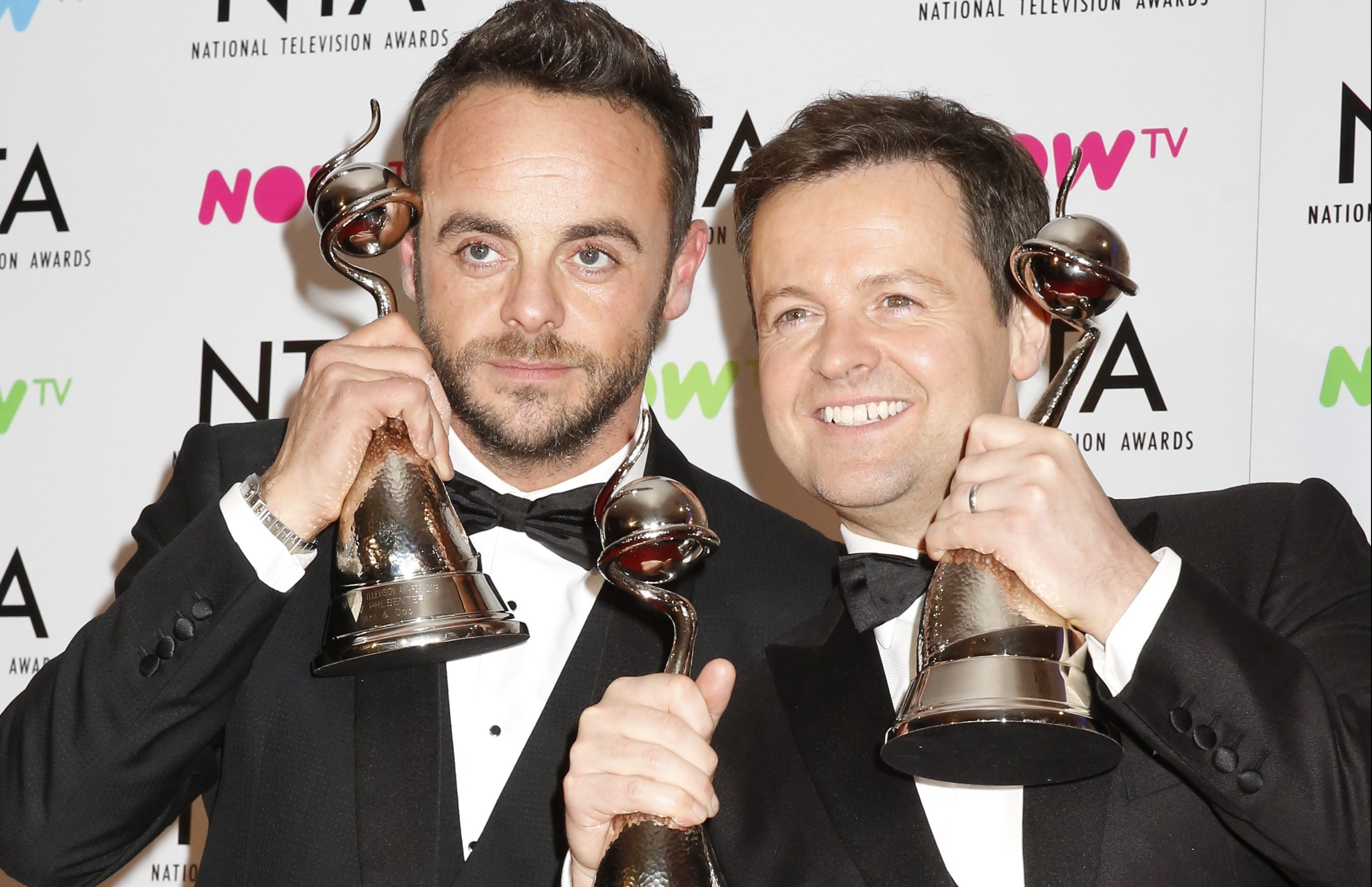 Ant and Dec win big at National Television Awards