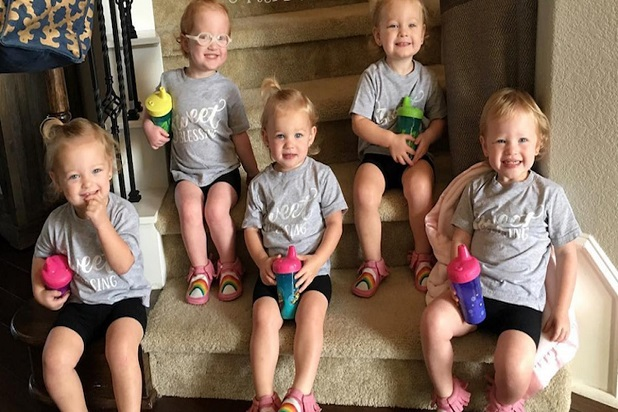 Fans Gush Over Precious New Snap Of 39 Outdaughtered 39 Quints