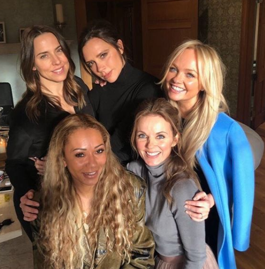 Spice Girls hint at reunion with first photo in 6 years