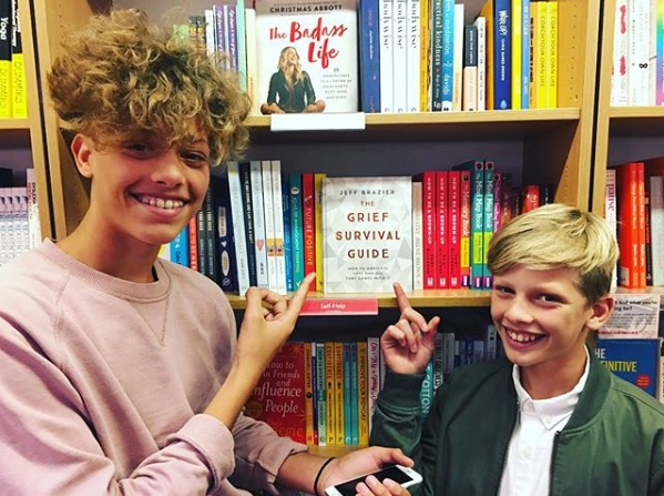 jeff brazier reveals quotunbelievably specialquot gift from son