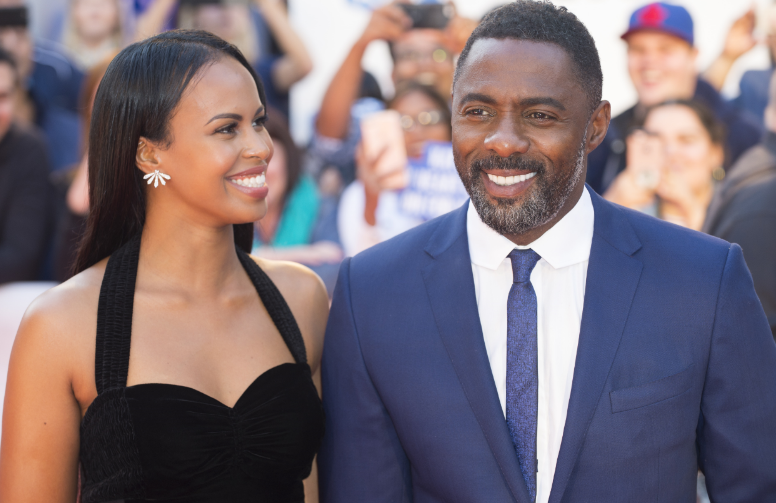 Idris Elba proposes to Sabrina Dhowre at film screening