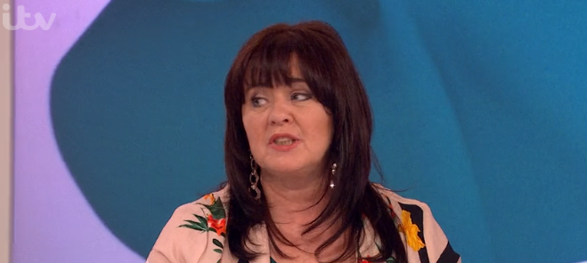 "Coleen Nolan ""cried for 10 days"" after Loose Women row with Kim Woodburn"