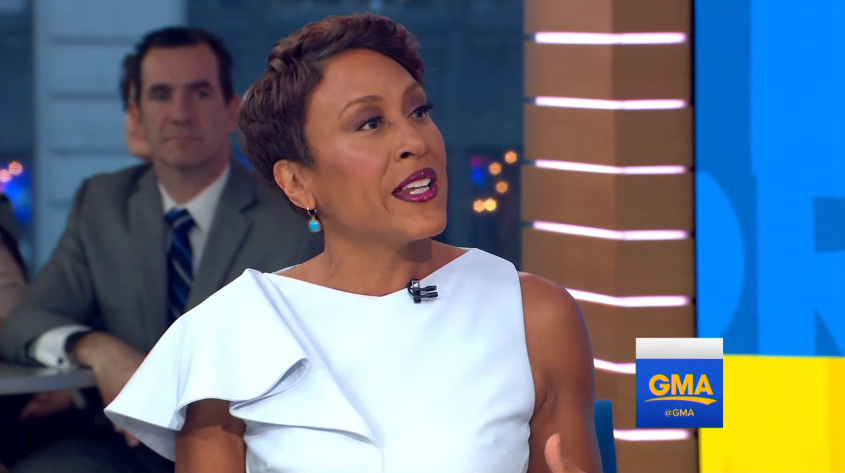 Emotional Robin Roberts Marks 5-Year Anniversary of 'GMA' Return After Health Battle