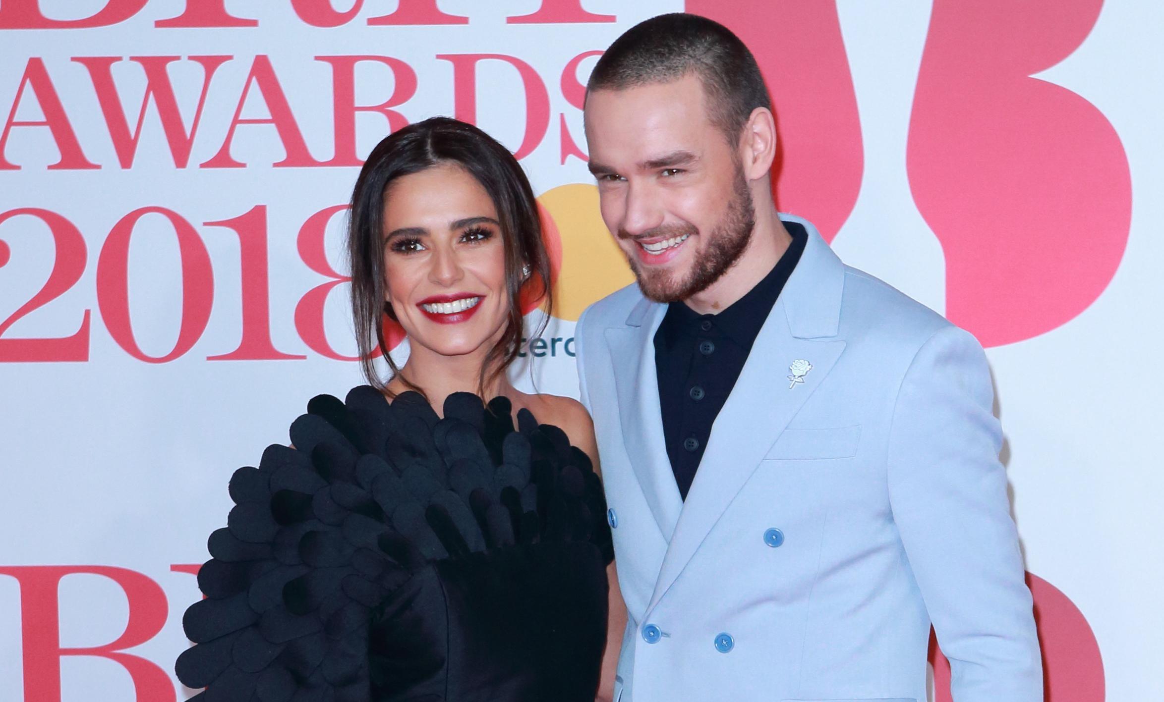 Cheryl Tweedy Poses With Tom Hardy At Prince's Trust Awards