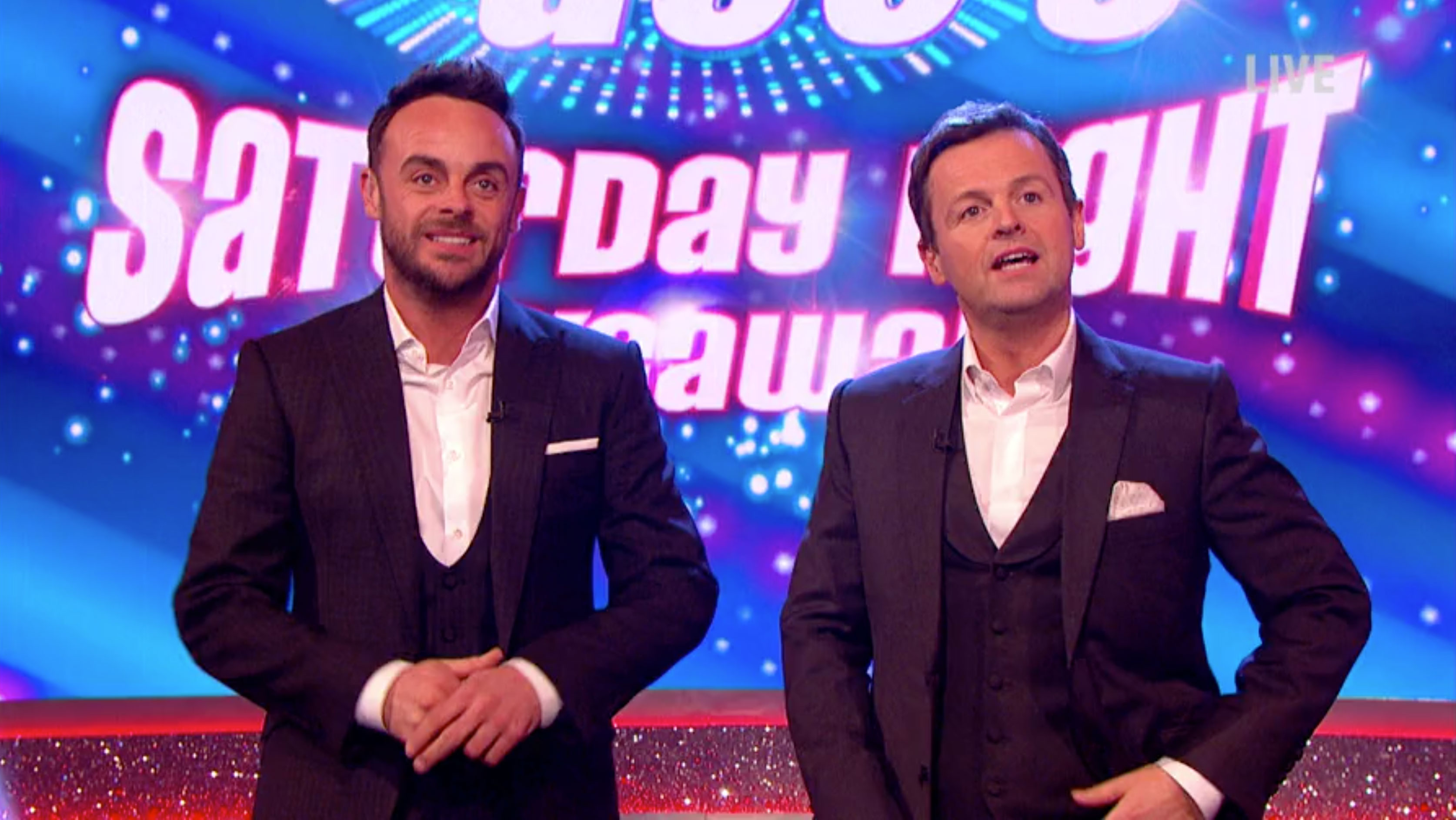 Fans express concern for newly single Ant, after his appearance on Saturday Night Takeaway