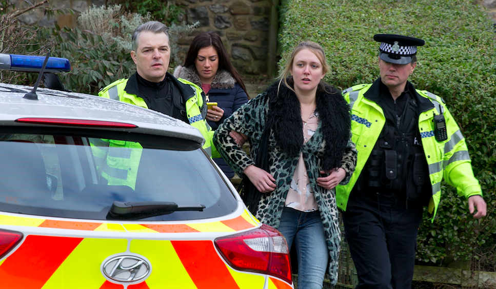 Emmerdale spoilers: Rebecca White is arrested for attacking Joseph Tate