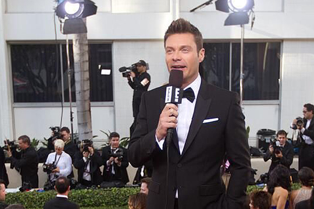 Ryan Seacrest Reunites With Actress After Awkward Oscars Chat