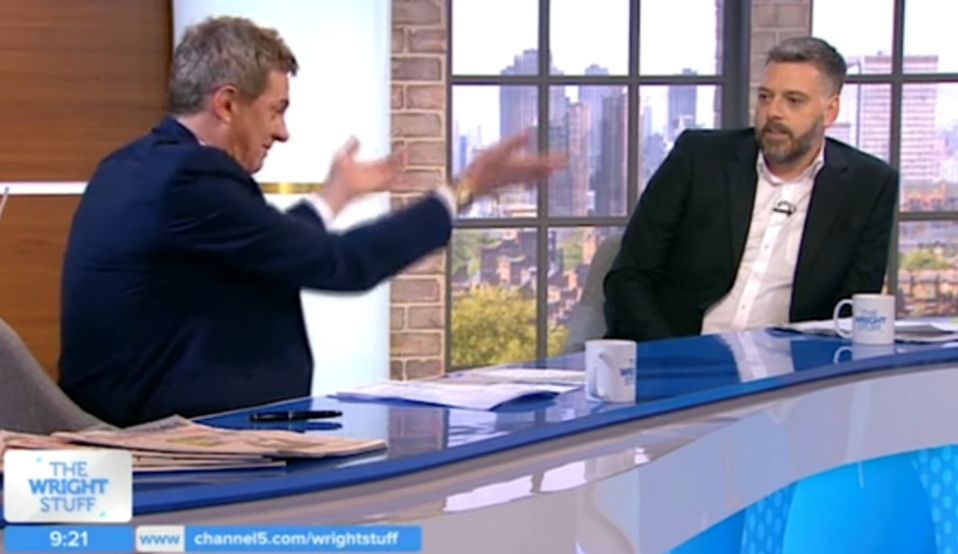 Iain Lee and Matthew Wright continue war of words on Twitter after on-air clash
