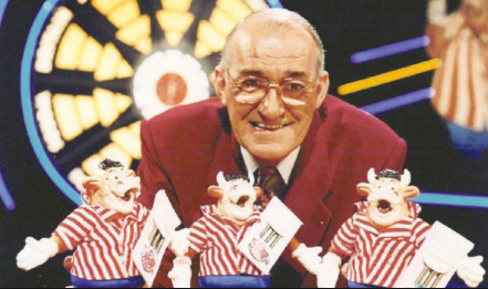 Jim Bowen: Comedian and former Bullseye host dies at 80