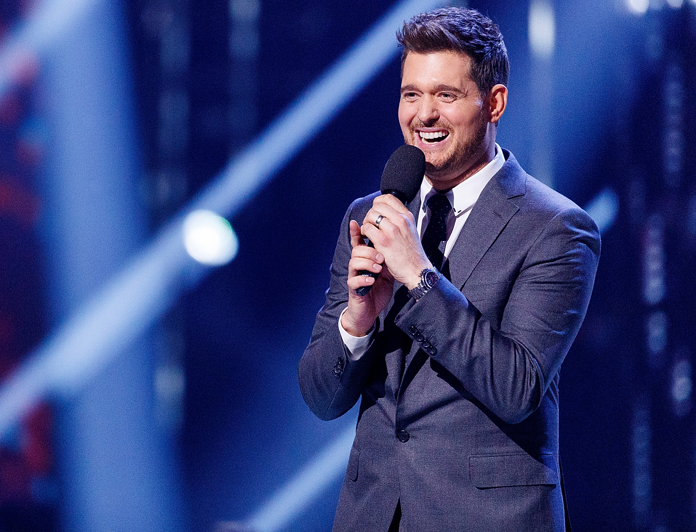 Fans Concern For Michael Buble During X Factor Appearance