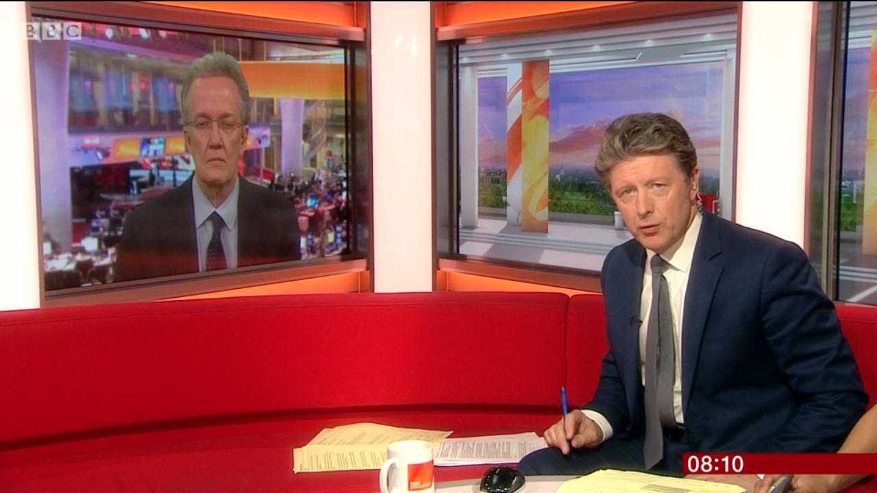 BBC Breakfast presenter branded 'TV's rudest interviewer' by annoyed viewers