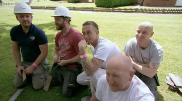 The Builders Didn T Seem Too Bothered Credit Bbc