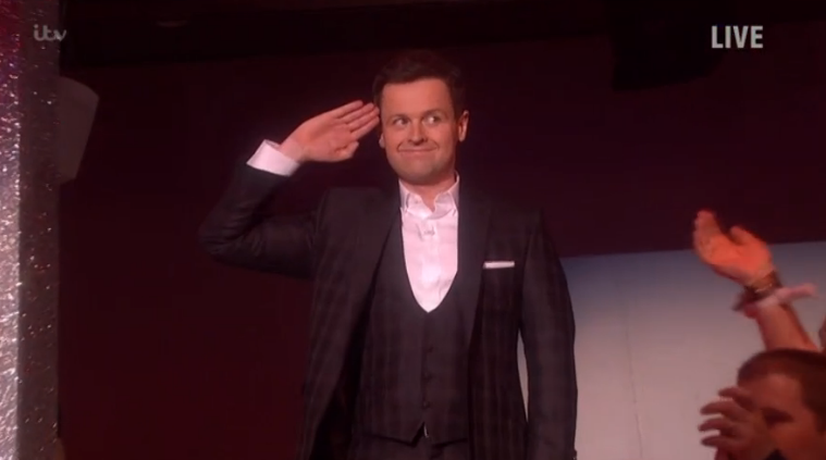 """Saturday Night Takeaway viewers shower """"nervous"""" Dec Donnelly with praise as he goes it alone"""