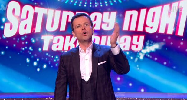 Dec's emotional speech to Saturday Night Takeaway audience after filming revealed