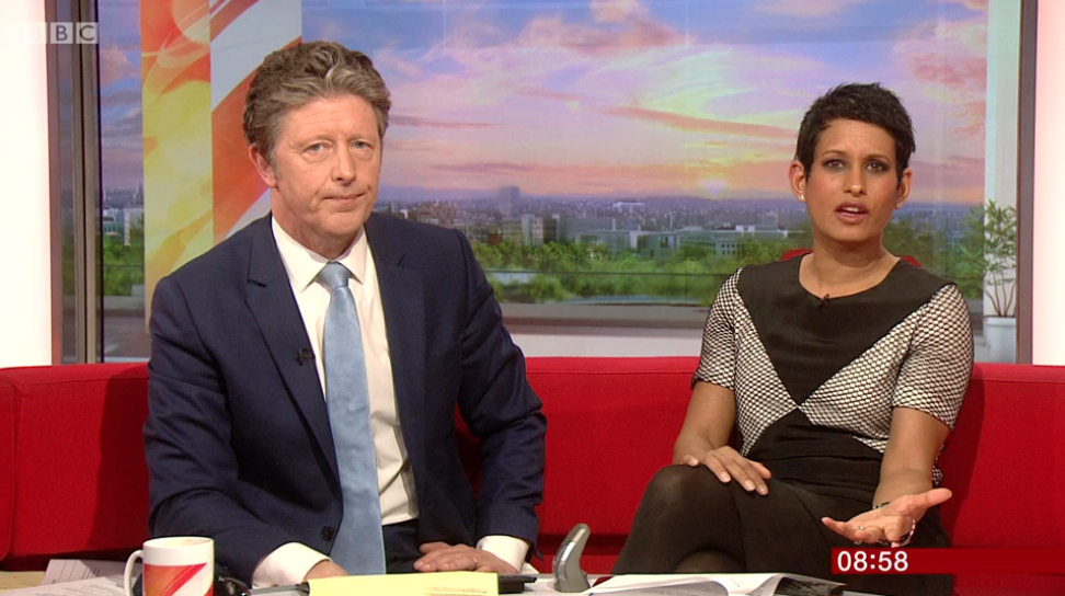 Viewers accuse BBC Breakfast of losing the plot with 'car crash TV' interview about SLIME
