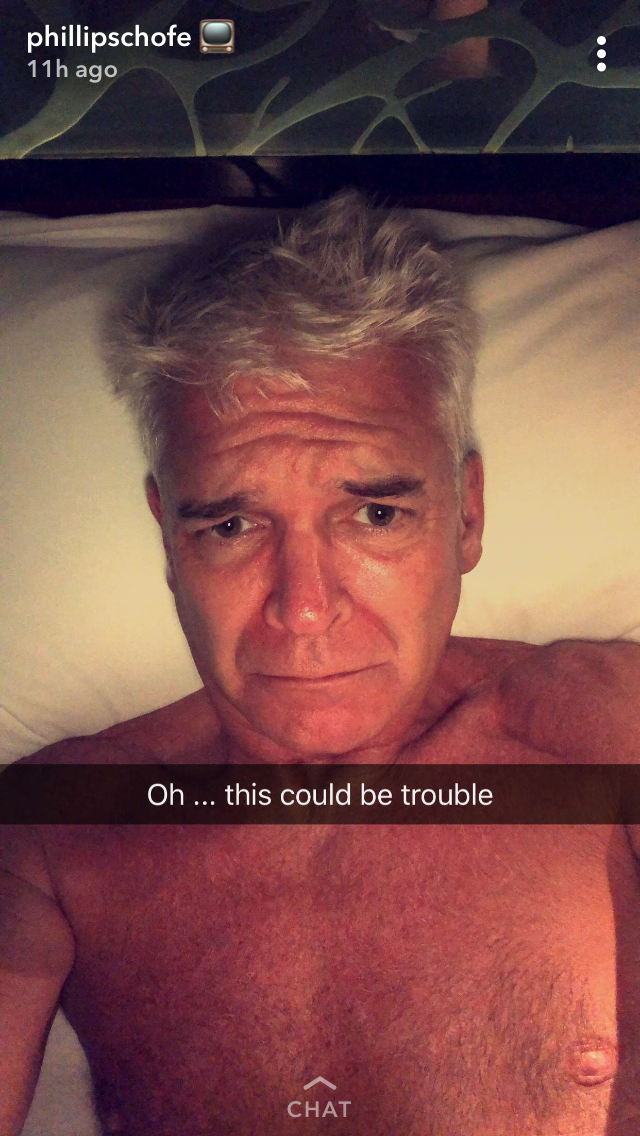 Phillip Schofield Shares Rare Family Photo From Luxury