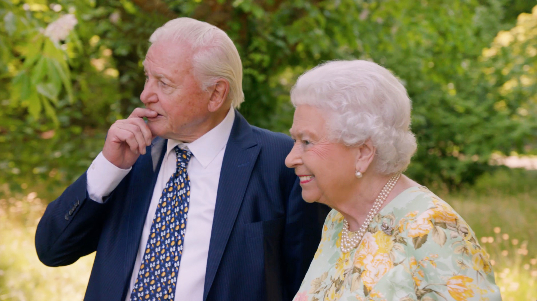 Sir David Attenborough upset by question about the Queen