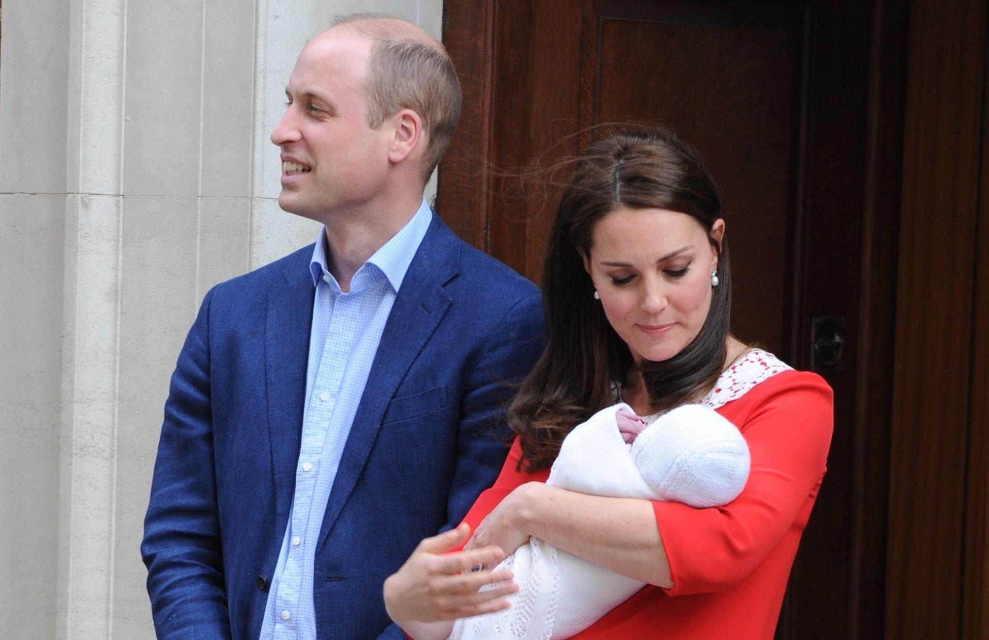 Kensington Palace announces Prince Louis' christening details