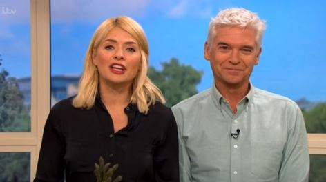 Phillip Schofield delights fans by stripping totally naked
