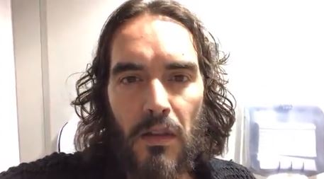 Russell Brand cancels tour following mum's serious vehicle accident