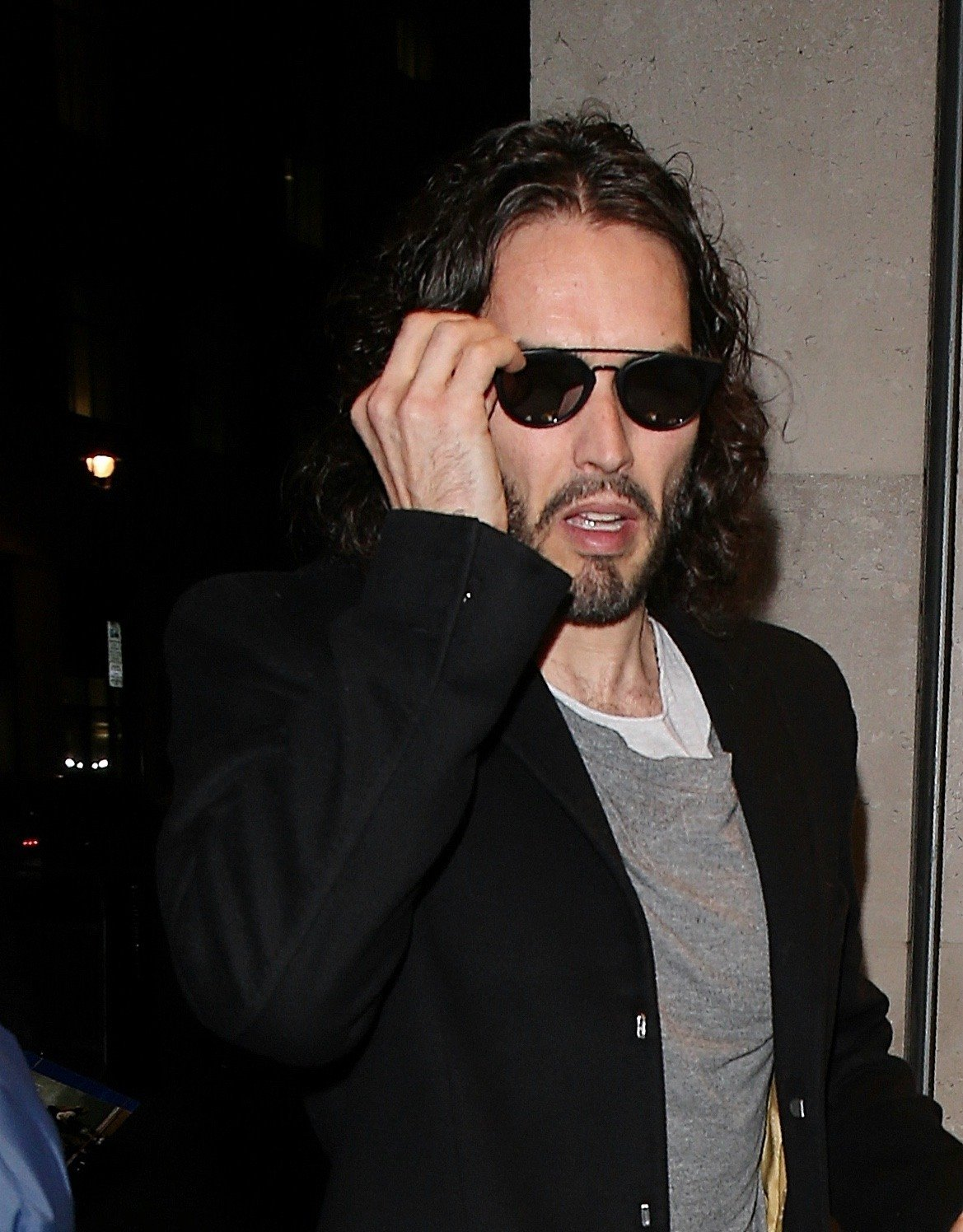 Russell Brand reveals mum's injuries after accident